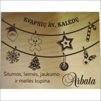 """ARBATINĖ 6 SKYRIŲ """"KVAPNIŲ ŠV.KALĖDŲ"""""""