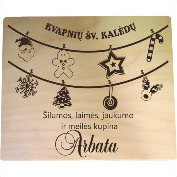 """ARBATINĖ 4 SKYRIŲ """"KVAPNIŲ ŠV.KALĖDŲ"""""""