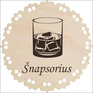 """MEDINIS MEDALIS """"ŠNAPSORIUS"""""""