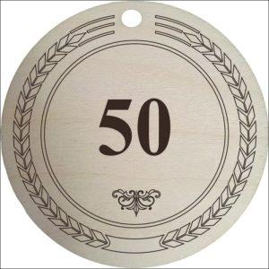 "MEDINIS MEDALIS ""50"""