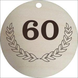 "MEDINIS MEDALIS ""60"""