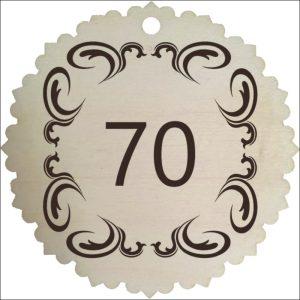 "MEDINIS MEDALIS ""70"""