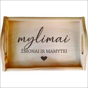 """MEDINIS PADĖKLAS """"MYLIMAM ŽMONAI IR MAMYTEI"""""""