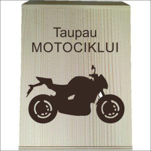 """MEDINĖ TAUPYKLĖ """"TAUPAU MOTOCIKLUI"""" 2"""