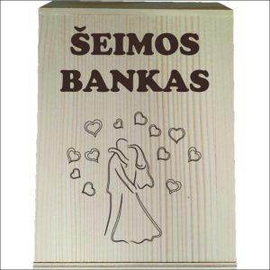 """MEDINĖ TAUPYKLĖ """"ŠEIMOS BANKAS"""""""