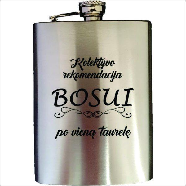 """METALINĖ GERTUVĖ (FLEŠKUTĖ) """"KOLEKTYVO REKOMENDACIJA BOSUI"""""""