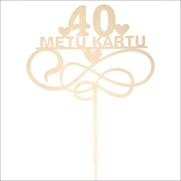 """SMEIGTUKAS """"40 METŲ KARTU"""""""