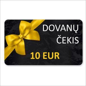 Dovanų čekis 10 eur